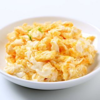 Scrambled Egg with Cheese Pouch