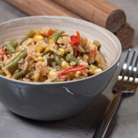 Vegetable Fried Rice Tin